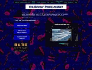 rudolfiartists.com screenshot