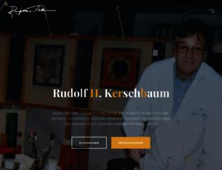 rudolfkerschbaum.com screenshot