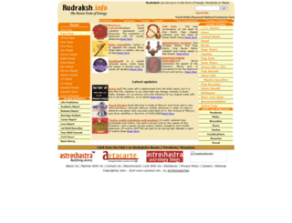 rudraksh.info screenshot