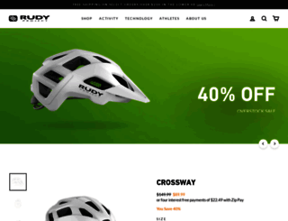 rudyprojectusa.com screenshot