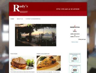 rudysmoorea.com screenshot