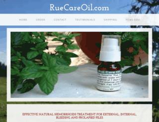 ruecareoil.com screenshot