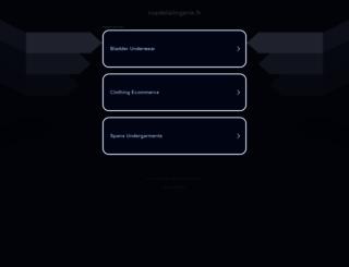 ruedelalingerie.fr screenshot