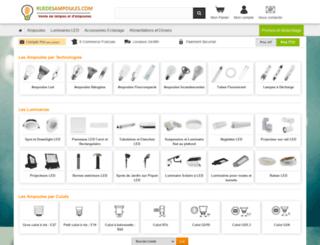 ruedesampoules.com screenshot