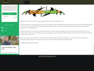 rugbymania.net screenshot
