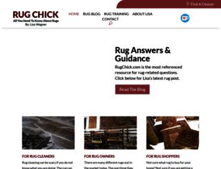 rugchick.com screenshot