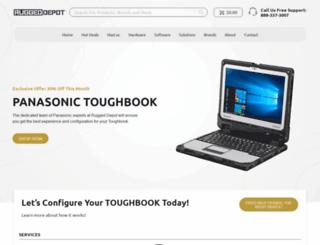ruggeddepot.com screenshot