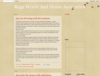 rugsworld.blogspot.com screenshot