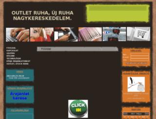 ruhanagykereskedelem.hu screenshot