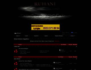 ruhani.net screenshot