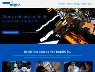 ruimtevaartindeklas.nl screenshot