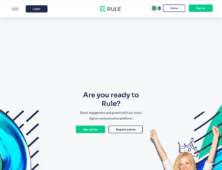 rulemailer.com screenshot
