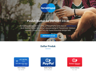 rumahpaypal.com screenshot
