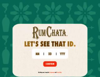 rumchata.com screenshot