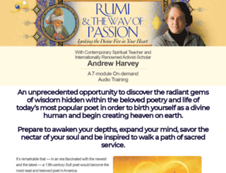 rumipassion.com screenshot