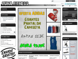 runafitness.lasofertasdemiciudad.com screenshot