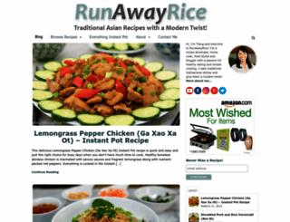 runawayrice.com screenshot