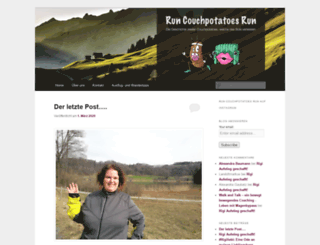 runcouchpotatoesrun.com screenshot