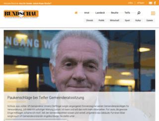 rundschau.at screenshot