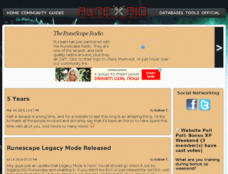 runeaid.net screenshot