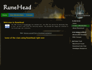 runehead.com screenshot