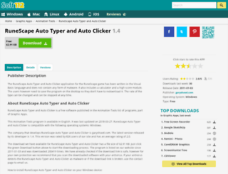 runescape-auto-typer-and-auto-clicker.soft112.com screenshot