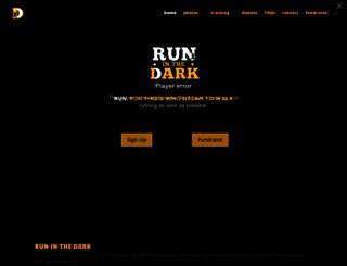 runinthedark.org screenshot