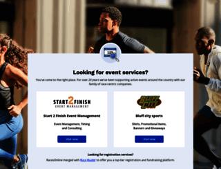 runjenrun.racesonline.com screenshot