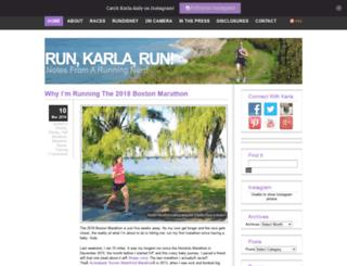 runkarlarun.com screenshot