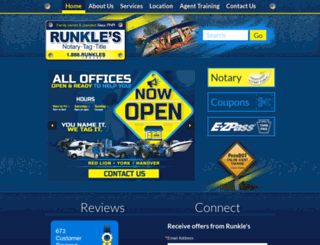 runkles.com screenshot