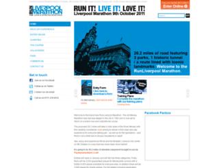 runliverpoolmarathon.co.uk screenshot