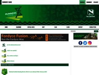 runnersguide.co.za screenshot