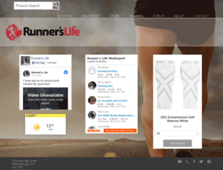 runnerslife.ca screenshot