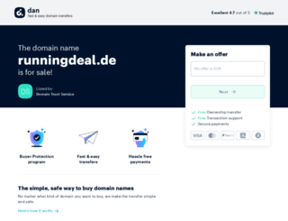 runningdeal.de screenshot