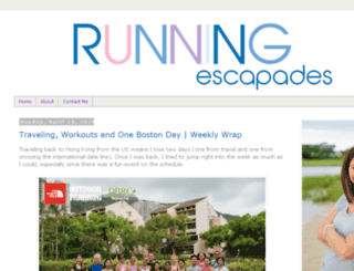 runningescapades.com screenshot