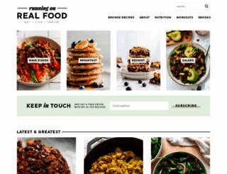 runningonrealfood.com screenshot