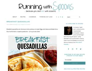 runningwithspoons.com screenshot