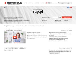 rup.pl screenshot