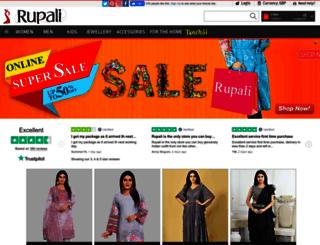 rupalionline.com screenshot