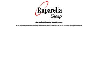 rupareliagroup.com screenshot