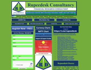 rupeedesk.in screenshot