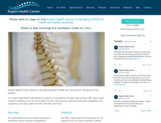 ruperthealth.com screenshot
