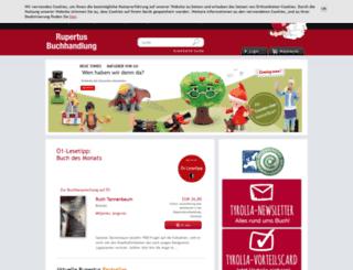 rupertusbuch.at screenshot
