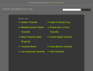 rural-casablanca.com screenshot