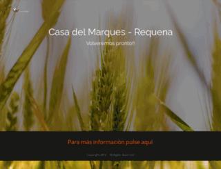 ruralrequena.es screenshot