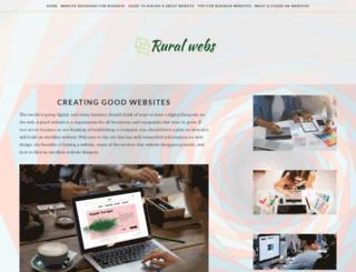 ruralwebs.co.nz screenshot