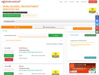 ruruglobal.workabroad.ph screenshot