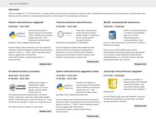 rus.sbe.ee screenshot