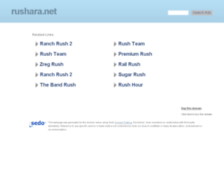 rushara.net screenshot