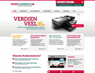 rushcommerce.com screenshot